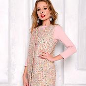 Одежда handmade. Livemaster - original item Chanel beige vest, tweed vest. Handmade.