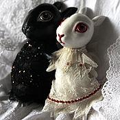 Куклы и игрушки ручной работы. Ярмарка Мастеров - ручная работа Зайка-малышка. Handmade.