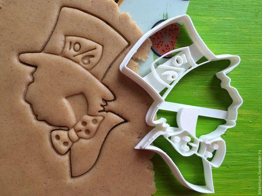 Кухня ручной работы. Ярмарка Мастеров - ручная работа. Купить Форма для печенья Безумный шляпник. Handmade. Разноцветный, формочка для печенья