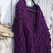 """Одежда ручной работы. Ярмарка Мастеров - ручная работа Вязаный Кардиган """"Lilac Branch"""". Handmade."""