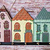 Для дома и интерьера handmade. Livemaster - original item Housekeeper Summer in Marseille. The housekeeper wall. decor polymer clay.. Handmade.