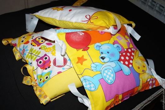Куклы и игрушки ручной работы. Ярмарка Мастеров - ручная работа. Купить Подушка- основа для подушек -бортиков в кроватку. Handmade. заготовка