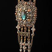 Украшения handmade. Livemaster - original item Necklace with labradorite