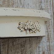 Для дома и интерьера ручной работы. Ярмарка Мастеров - ручная работа Полка для икон угловая лавандовая. Handmade.