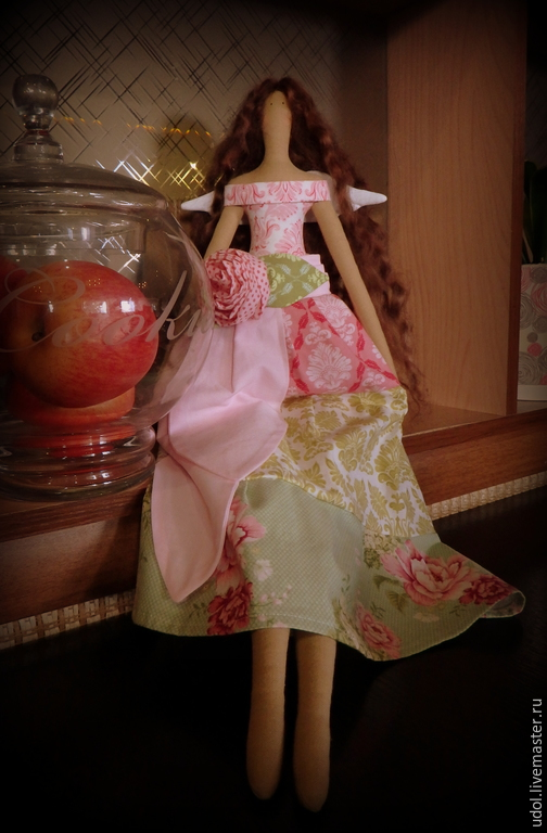 Куклы Тильды ручной работы. Ярмарка Мастеров - ручная работа. Купить Цветочный ангел тильда. Handmade. Фея тильда, лето
