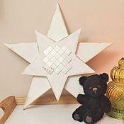 Для дома и интерьера ручной работы. Ярмарка Мастеров - ручная работа Звезда из дерева. Handmade.