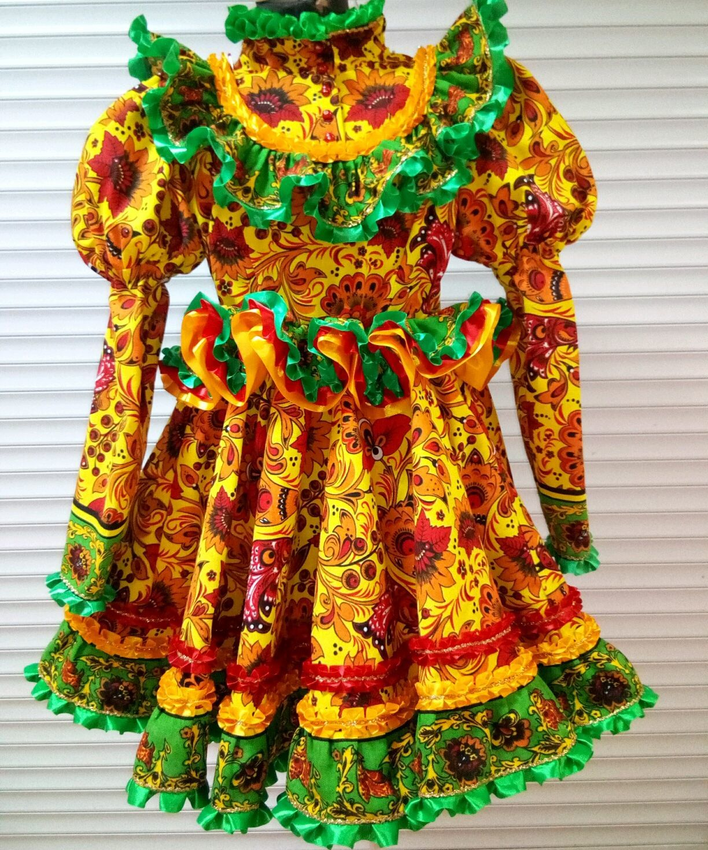 Народные костюмы: Платье Петушки – заказать на Ярмарке Мастеров – GQ6F5RU | Народные костюмы, Воронеж