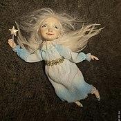 Куклы и игрушки ручной работы. Ярмарка Мастеров - ручная работа Ангел рождественский  летящий. Handmade.