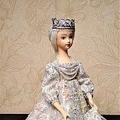 Ded Moroz and Snegurochka handmade. Livemaster - original item Snow maiden Doll-box. Handmade.