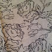 """Для дома и интерьера ручной работы. Ярмарка Мастеров - ручная работа Льняной комплект постельного белья """"Розы"""". Handmade."""