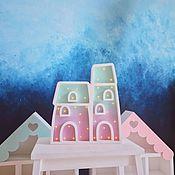 Для дома и интерьера ручной работы. Ярмарка Мастеров - ручная работа Ночник с сенсорной регулировкой яркости Домик. Handmade.