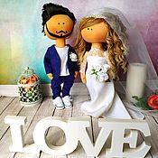 Свадебный салон handmade. Livemaster - original item Wedding gift for newlyweds or wedding anniversary. Handmade.