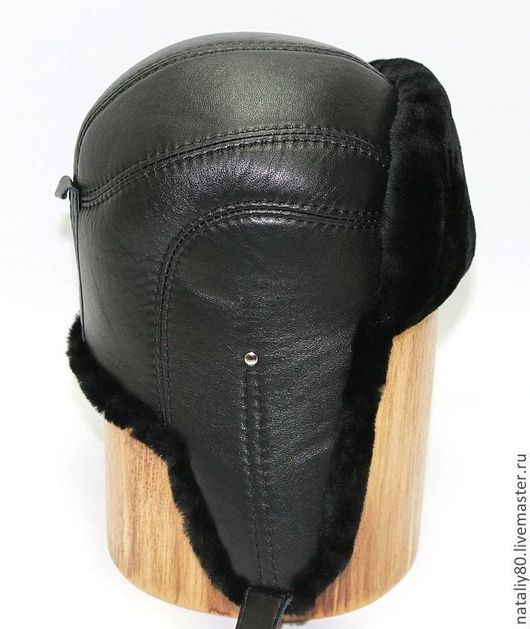 Шапки ручной работы. Ярмарка Мастеров - ручная работа. Купить Мужская шапка ушанка из мутона. Арт.  VS-14. Handmade.