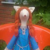 Куклы и игрушки ручной работы. Ярмарка Мастеров - ручная работа Лисичка- путешественница. Handmade.