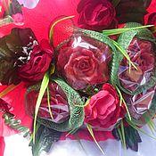 Косметика ручной работы. Ярмарка Мастеров - ручная работа Букет роз. Мыло ручной работы. Букет из мыла. Handmade.