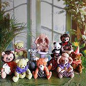 Куклы и игрушки ручной работы. Ярмарка Мастеров - ручная работа МИНИКИ    (мишки и их друзья). Handmade.