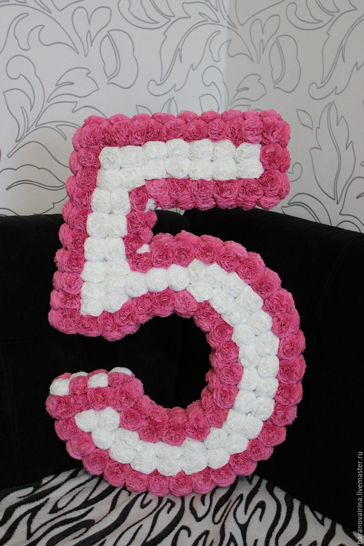 Мастер класс цифра 1 на день рождения своими руками 10