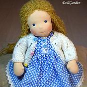 Куклы и игрушки ручной работы. Ярмарка Мастеров - ручная работа Танюша, вальдорфская кукла. Handmade.