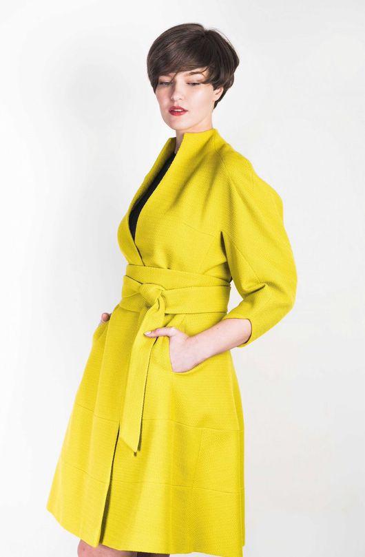 Верхняя одежда ручной работы. Ярмарка Мастеров - ручная работа. Купить Эксклюзивное пальто. Handmade. Пальто, сложный крой