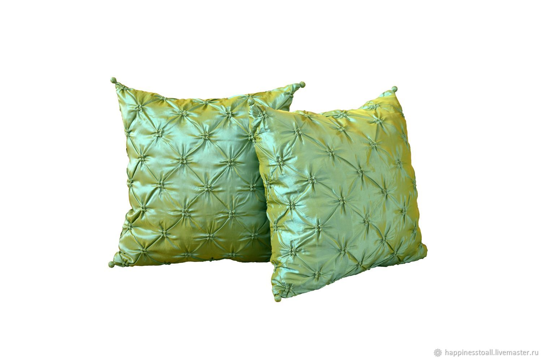 """Комплект """" Эльфийский """" из двух декоративных подушек"""