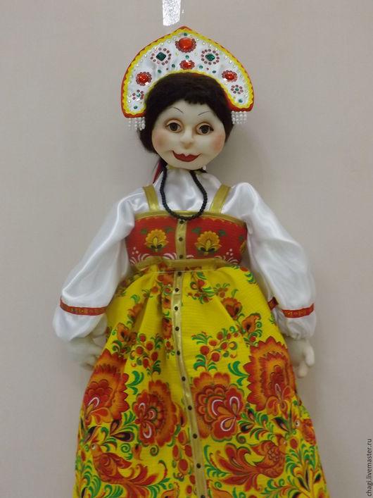 Кухня ручной работы. Ярмарка Мастеров - ручная работа. Купить Кукла -пакетница. Handmade. Комбинированный, подарок женщине
