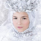 Одежда ручной работы. Ярмарка Мастеров - ручная работа Снежная королева. Handmade.