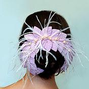 Свадебный салон handmade. Livemaster - original item Decor for hairstyles with a bunch. Handmade.