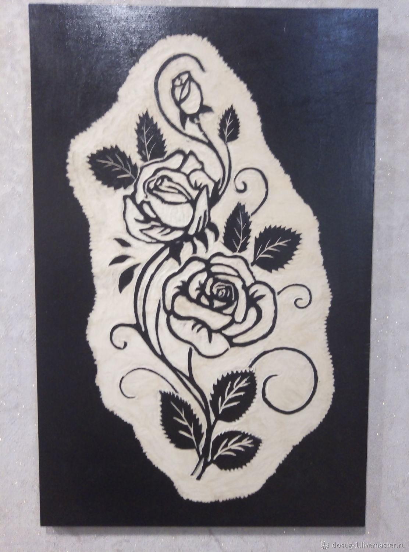 Картины: розы, Абстракция, Долинск, Фото №1