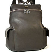 Сумки и аксессуары handmade. Livemaster - original item Leather backpack VERANO. Handmade.