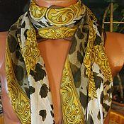 Винтаж ручной работы. Ярмарка Мастеров - ручная работа Larioseta,шелковая шаль. Handmade.