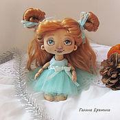 Куклы и игрушки handmade. Livemaster - original item Textile baby - ryzhulka. Handmade.