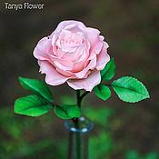 Цветы и флористика ручной работы. Ярмарка Мастеров - ручная работа Чайная роза ручной работы. Handmade.