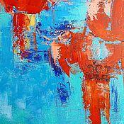 """Картины и панно ручной работы. Ярмарка Мастеров - ручная работа """"Китайские фонарики"""". Handmade."""
