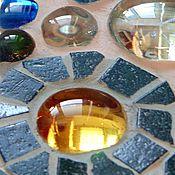 Для дома и интерьера ручной работы. Ярмарка Мастеров - ручная работа Зеркало с мозаикой. Handmade.