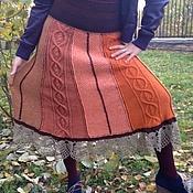 Одежда ручной работы. Ярмарка Мастеров - ручная работа Юбка осенняя. Handmade.