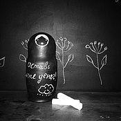 """Русский стиль ручной работы. Ярмарка Мастеров - ручная работа Матрешка авторская """"грифельная"""". Handmade."""