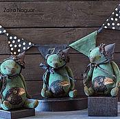 Куклы и игрушки ручной работы. Ярмарка Мастеров - ручная работа мишки Равены. Handmade.
