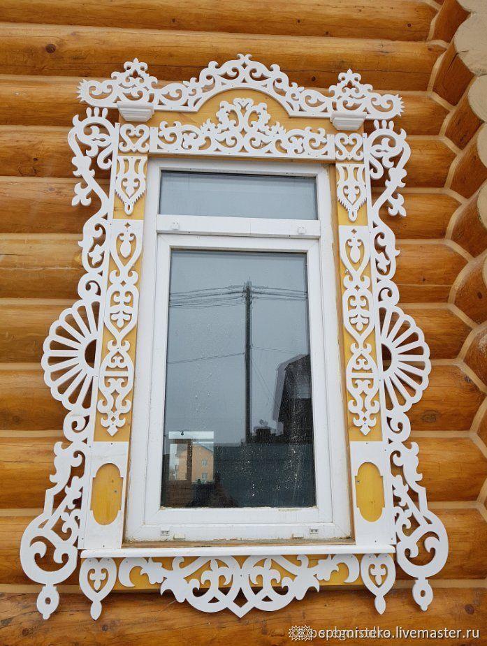Наличник резной, Экстерьерные, Санкт-Петербург,  Фото №1