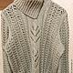Кофты и свитера ручной работы. Ярмарка Мастеров - ручная работа. Купить свитер женский. Handmade. Серый, свитер с рисунком, полушерсть