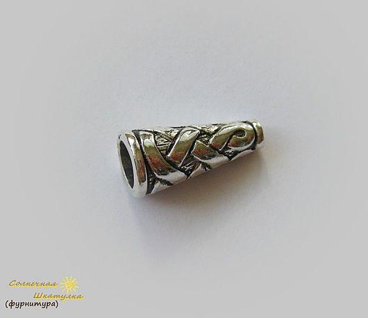 Для украшений ручной работы. Ярмарка Мастеров - ручная работа. Купить Конус с кельтским узором (арт. 0062). Handmade.