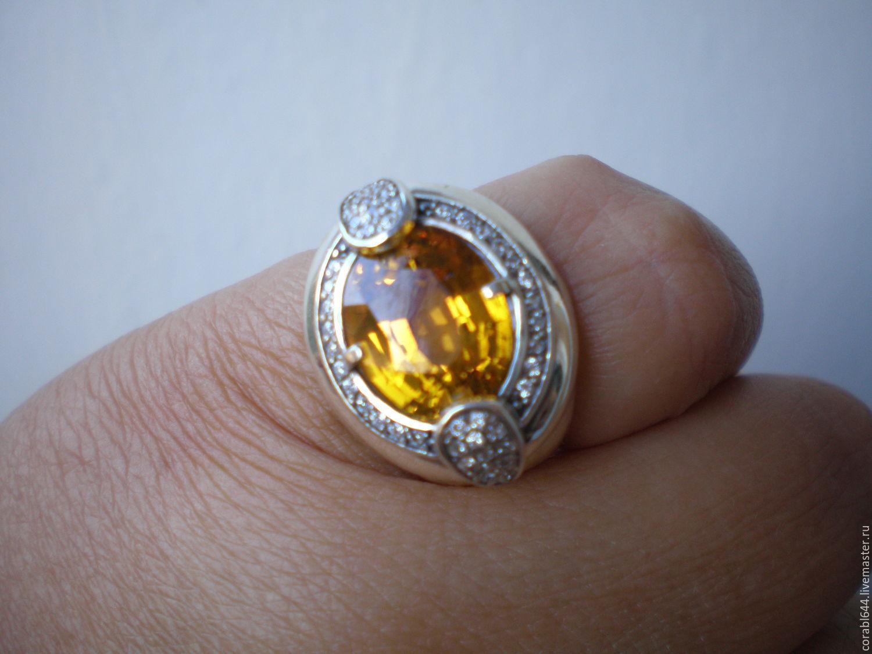 Желтый прозрачный камень