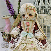 """Куклы и игрушки ручной работы. Ярмарка Мастеров - ручная работа Плюшевая зайка """"Мими"""". Handmade."""