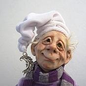 """Куклы и игрушки ручной работы. Ярмарка Мастеров - ручная работа Гном """"Фома""""  Нашел дом. Handmade."""