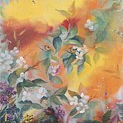 """Картины и панно handmade. Livemaster - original item Картина """"Солнце"""". Handmade."""