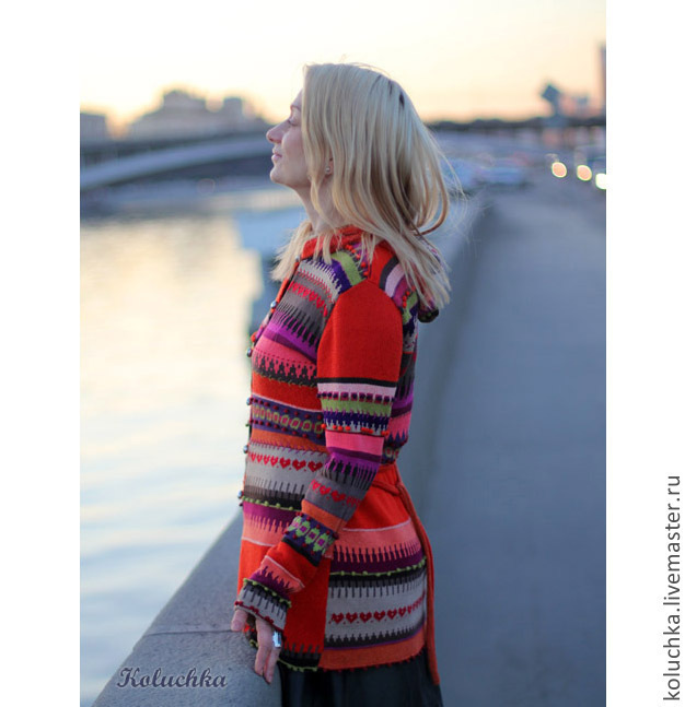 Cardigans handmade. Livemaster - handmade. Buy The summer evening is cool.Abstract, summer fashion 2014