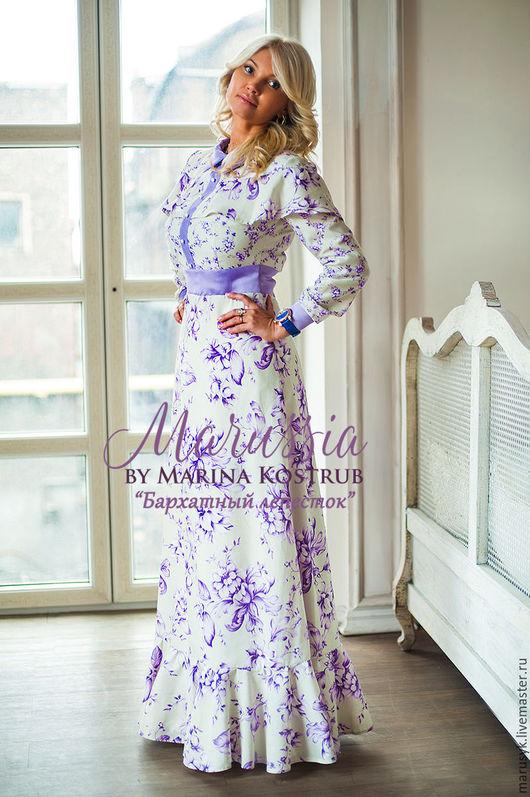 Платья ручной работы. Ярмарка Мастеров - ручная работа. Купить Платье БЛ-21. Handmade. Белый, платье на выпускной