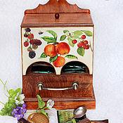 Для дома и интерьера ручной работы. Ярмарка Мастеров - ручная работа Чайный комод Фрукты-ягоды. Handmade.