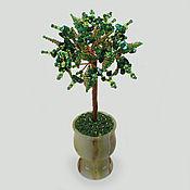 handmade. Livemaster - original item Tree of malachite