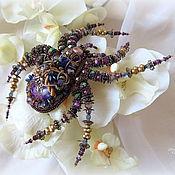 """Украшения ручной работы. Ярмарка Мастеров - ручная работа """"Spider Vintage"""" Брошь. Handmade."""