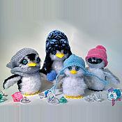 Куклы и пупсы ручной работы. Ярмарка Мастеров - ручная работа Вязаные пингвины Коллекция 1. Handmade.